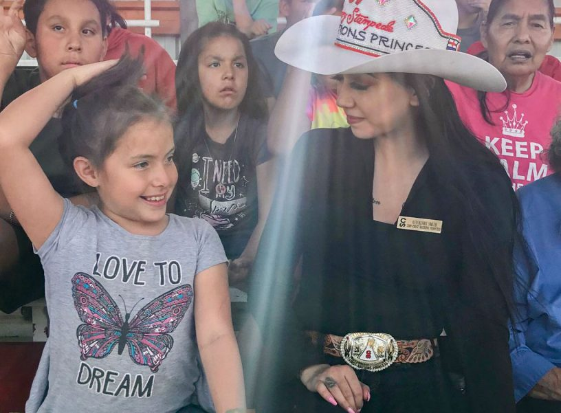 The Calgary Stampede First Nation Princess Visits The